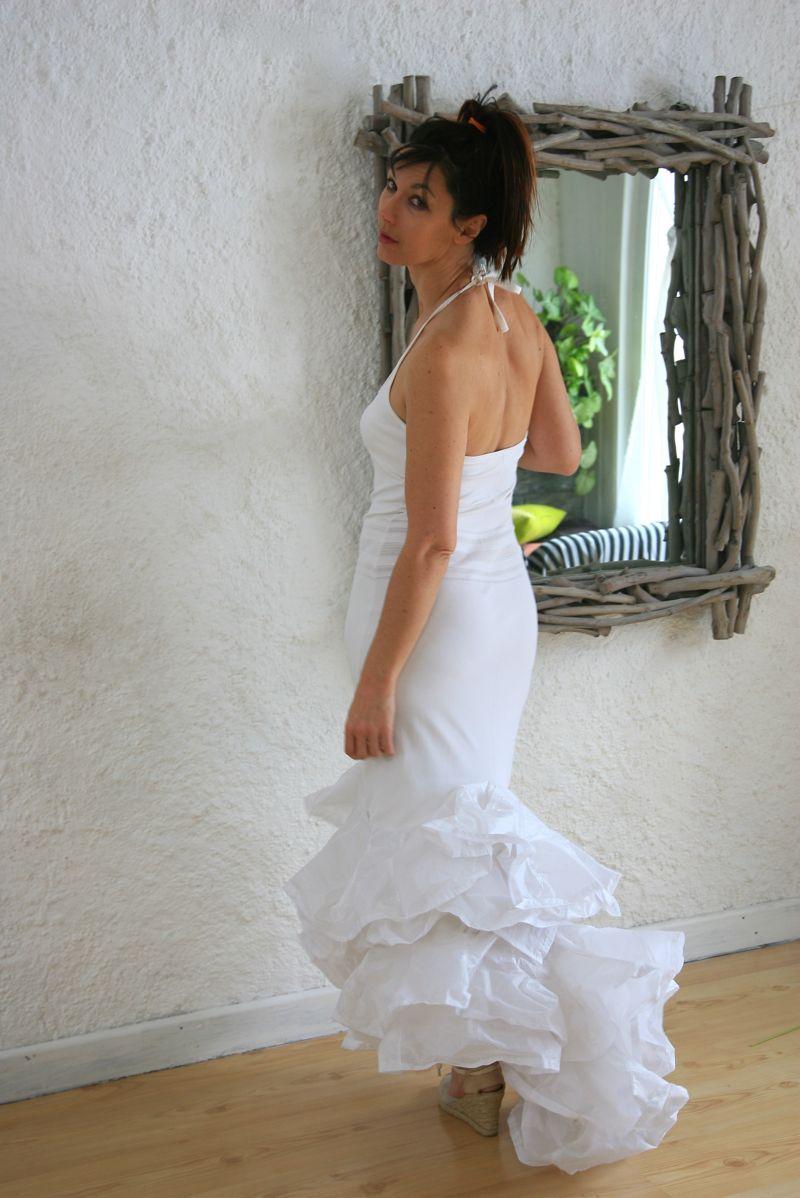 Robe de mari e vintage flamenco valerie pache - Robe de mariee charleston ...
