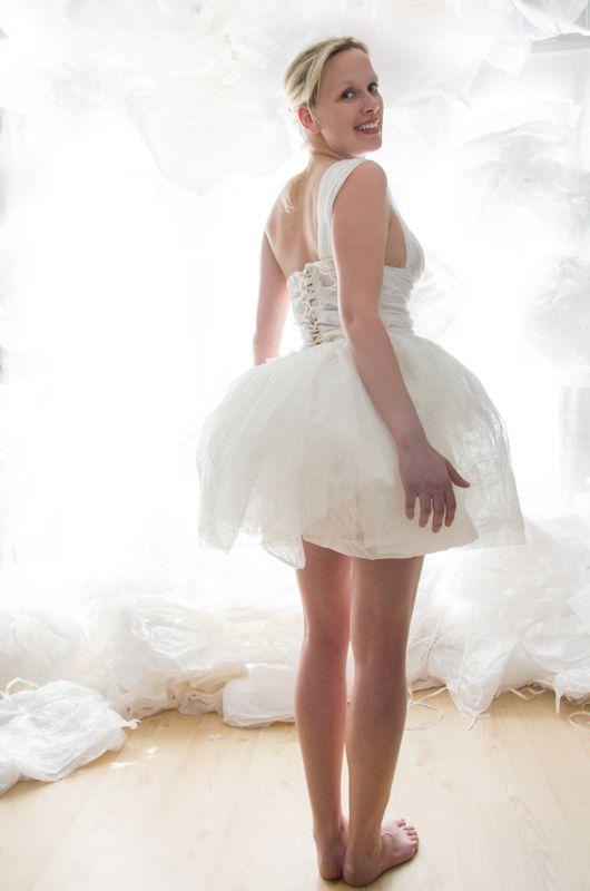 Robe blanche tutu