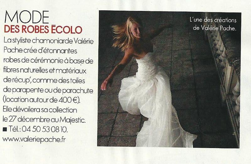 parution dans le ELLE, création Valérie PACHE, mannequin Agathe PETRINI , photographe Benjamin Chevalier Benjam'