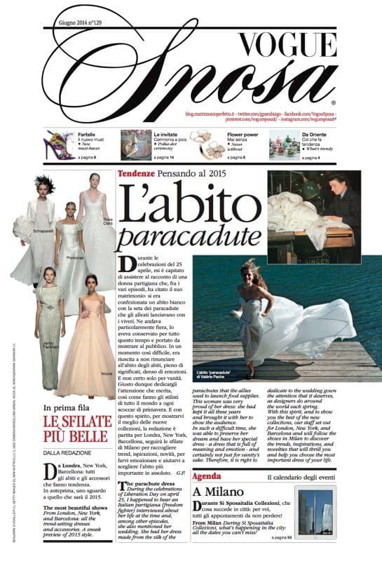 robe de l'Air en parachute recyclé Valérie PACHE