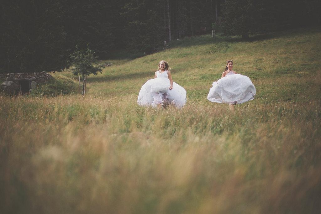 Rosée & Blanche avec jupon