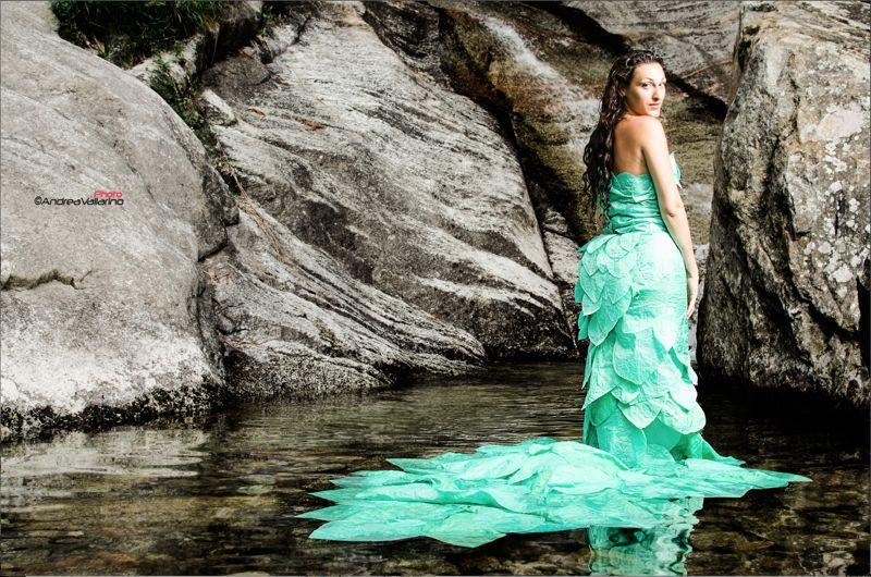 robe-feuille-parapente-recyclé-creation-Valerie-PACHE-irene- ABRIGO-photos-Andrea-VALLARINO