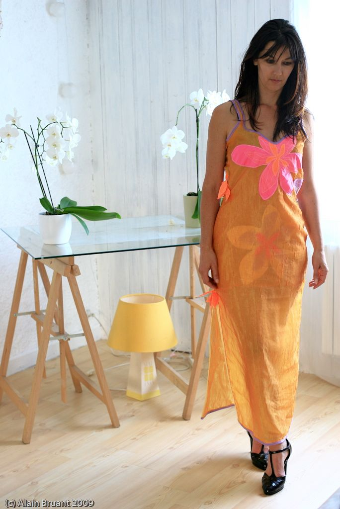 robe-vintage-lumiere-doree-parapente