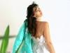 robe en soie fleurs de parapente